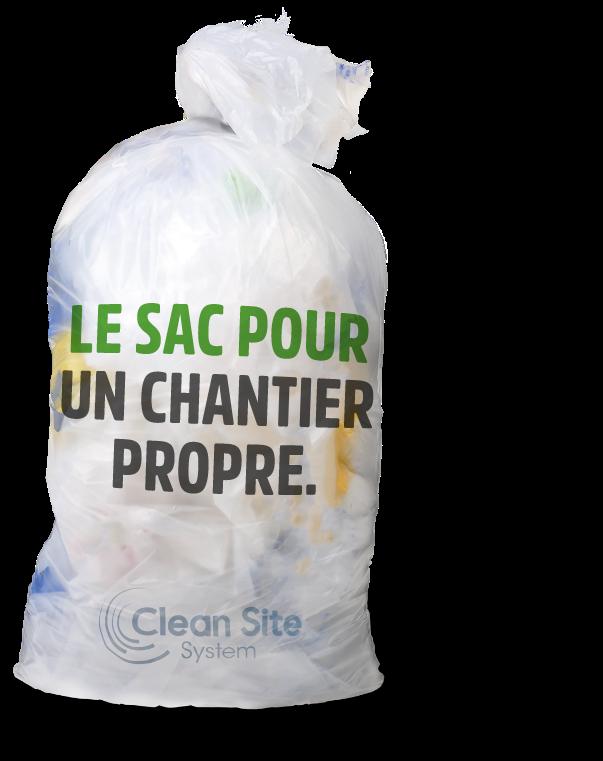 Le sac pour un chantier propre